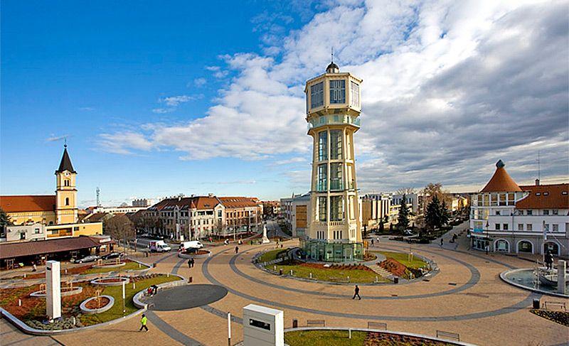 Шиофок. Главная площадь