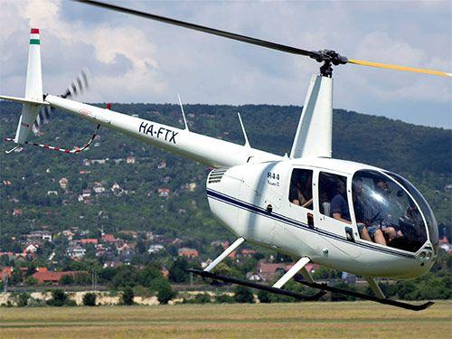 Авиакруиз. Полет на вертолете над Будапештом