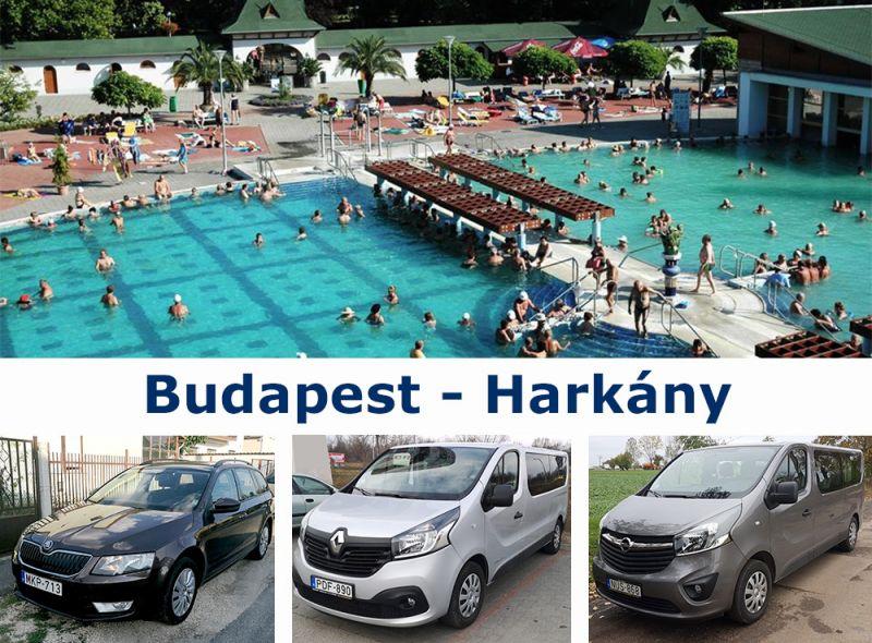 Трансфер Будапешт  - Харкань