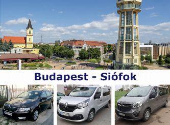 Трансфер Budapest - Siofok