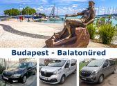 Трансфер Budapest - Balatonfured
