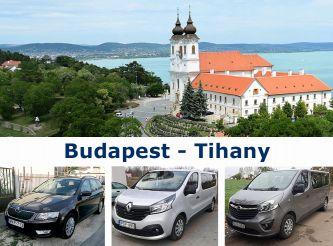 Трансфер Budapest  - Tihany