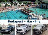 Трансфер Budapest - Harkany