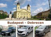 Трансфер Budapest - Debrecen