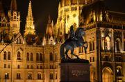 Игра света и тени - прогулка по вечернему Будапешту