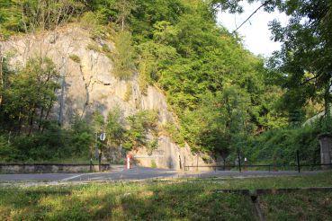 Hamor Rock in Lillafüred, Miskolc