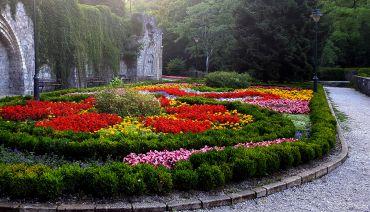 Висячие сады и террасы парка в Лиллафюред, Мишкольц
