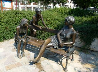 Girls of Miskolc Sculpture