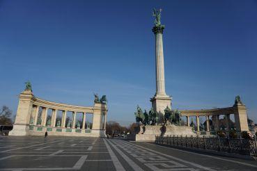 Hősök tere, Budapest