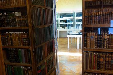 Потайная дверь в библиотеку